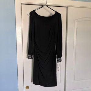 Jessica Howard Missy Dress- black, size: 8
